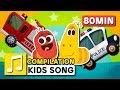 WHEELS ON THE CAR And Other Songs 75 Min LARVA KIDS Nursery Rhyme For Kids