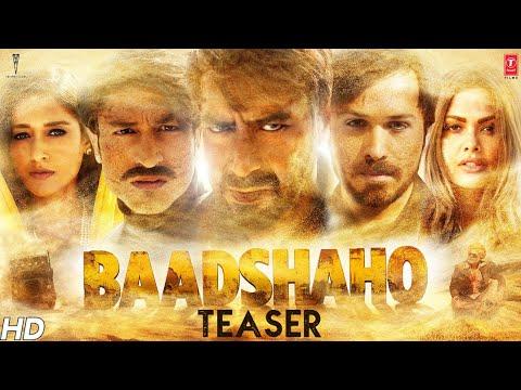 watch Baadshaho Official Teaser |  Ajay Devgn, Emraan Hashmi, Esha Gupta, Ileana D'Cruz & Vidyut Jammwal