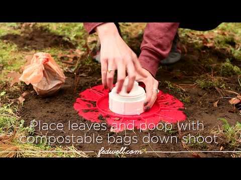 DIY Dog Poop Composter