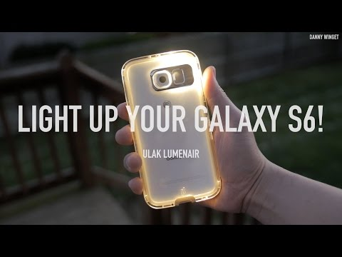Light Up Your Galaxy S6 with Ulak Lumenair Case!
