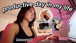 PRODUCTIVE DAY IN MY LIFE *on the weekend* | Nicole Laeno