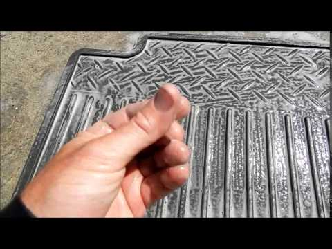 Cleaning Detailing Rubber Car Floor Mats: Going level 10!