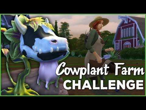 Growing Up on the Family Farm 🐄🌱 Sims 4 Cowplant Farm: Episode #15