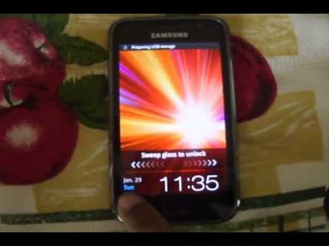 Rooting Samsung galaxy s plus i9001 recovery mode