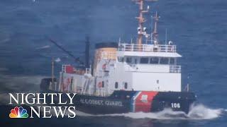 Download Coast Guard Denied Pay, Some Turn To Food Banks Amid Shutdown | NBC Nightly News Video