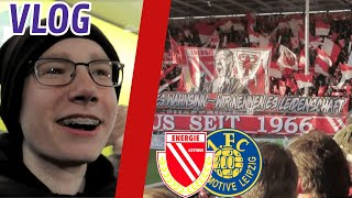 Topspiel der Regionalliga Nordost! Energie Cottbus vs Lok Leipzig Stadion Vlog