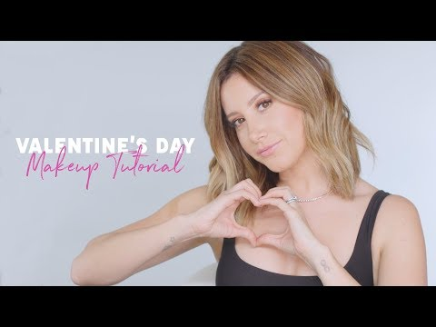 Pretty Soft Pink Glam Valentine's Day Makeup Tutorial| Ashley Tisdale