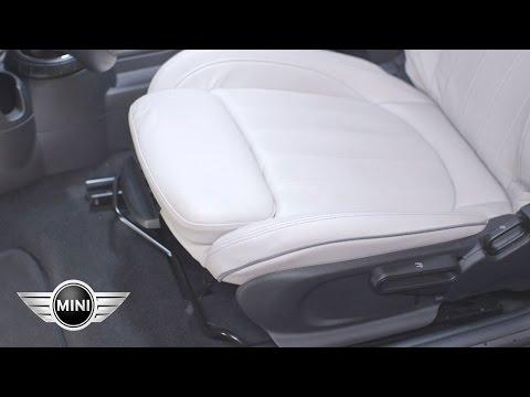 MINI USA | Manual Seat Adjustment