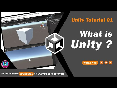 Unity Essentials Tutorial 01 - What is Unity?