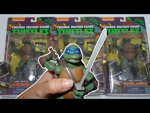 Opening: TMNT Classic Collection 1990 MOVIE Leonardo, Raphael, Michelangelo
