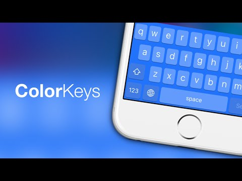 iOS 9 Cydia Tweaks: ColorKeys - Fully Customize Your Keyboard Color