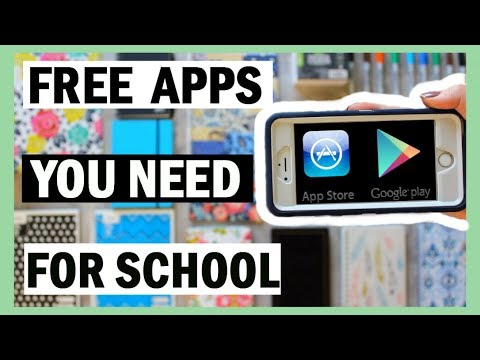 15 FREE Apps YOU NEED For Back To School 2017-18 | School Apps For Studying, Organization, + More!