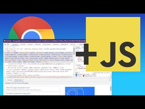Enable / Disable JavaScript in Chrome Developer Tools