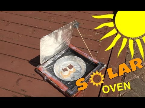 Solar Oven Pizza box Experiment