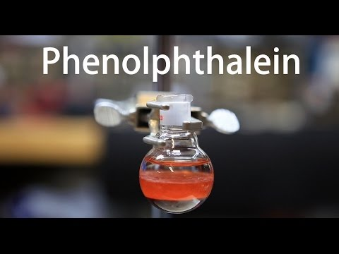 Making Phenolphthalein (a common pH indicator)