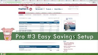 Capital One 360 Pros And Cons Checking Savings Account Review