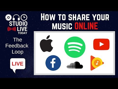 How to release and share your music online