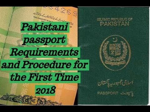 HOW TO MAKE PAKISTANI PASSPORT FOR THE FIRST TIME PROCEDURE 2018 | HINDI URDU | DUBAI DREAMS