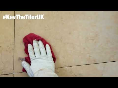 How to seal and grout stone tiles