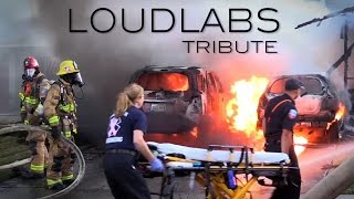 Loudlabs News: Inland Empires Firefighter, Police & EMT Tribute Video