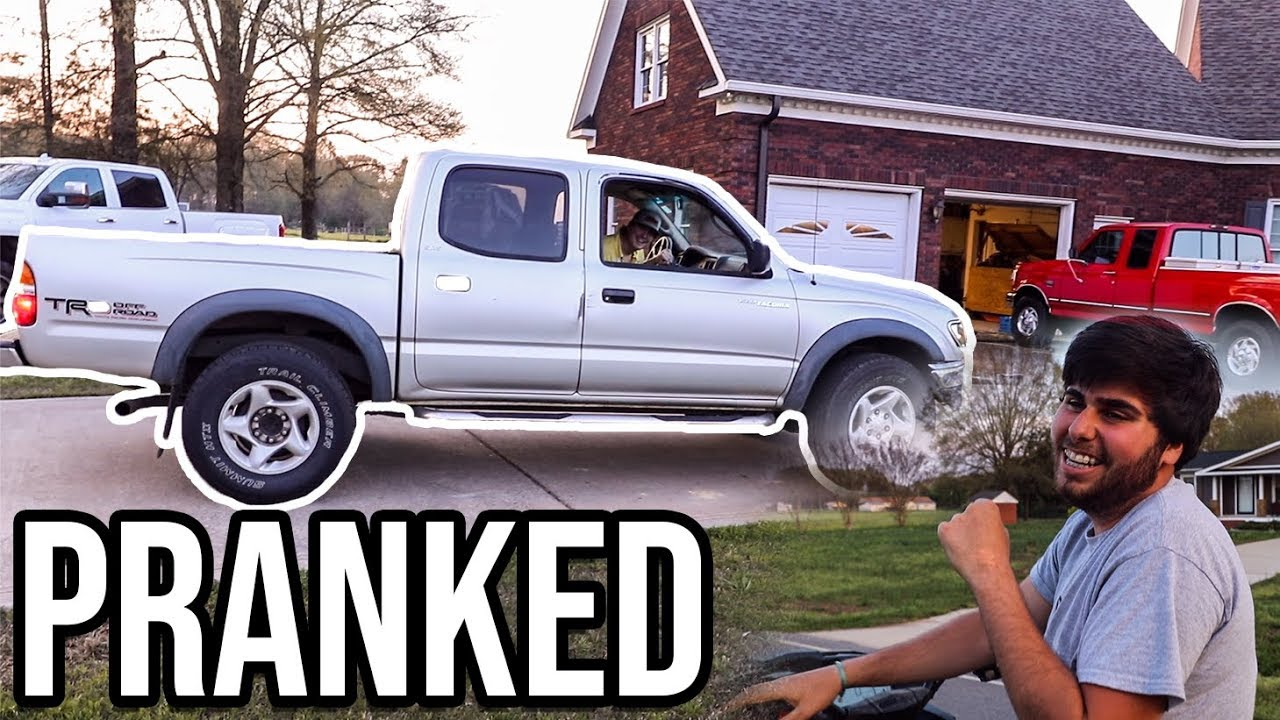 ZIP TIE DRIVE SHAFT PRANK! *Hilarious*