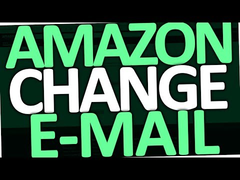 How to change Email Address on Amazon Account (PC)