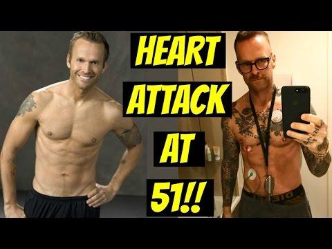 Bob Harper BIGGEST LOSER Trainer has HEART ATTACK!