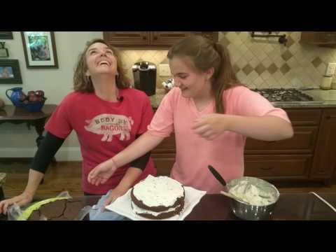 Low Carb Copycat Hershey Bar Cake:  Surkin Milk Chocolate Bar Cake