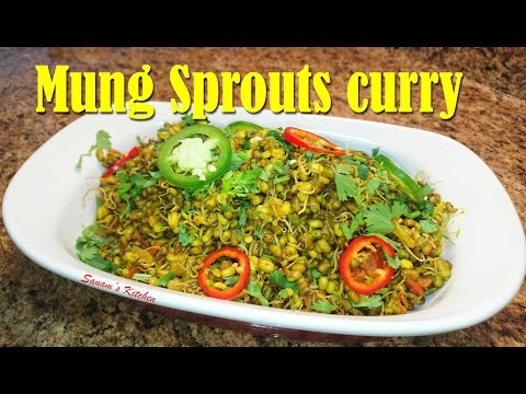Mung sprouts Curry Recipe