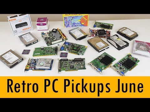 Retro PC Pickups - PCI & AGP GPUs, CPUs, Mini ITX, ISA sound cards and more