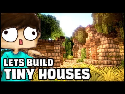 Minecraft Lets Build: Tiny Houses