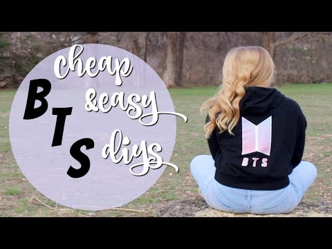 Easy to make BTS DIYS