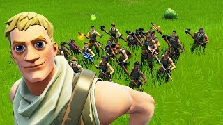 I built an army of default skins...
