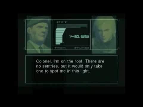 Metal Gear Solid 2 Substance - Plant Chapter P10