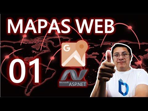 Mapas web de Google con ASP.NET, Bootstrap (Paso 1.- instalación y creación del control)
