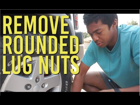 How To Remove Rounded Lug Nuts (Hammer Method)