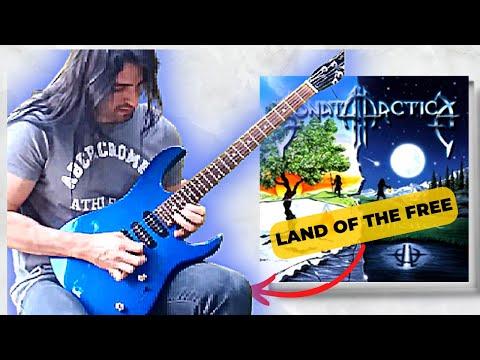 LAND OF FREE - Sonata Arctica Keyboard & Guitar solo cover