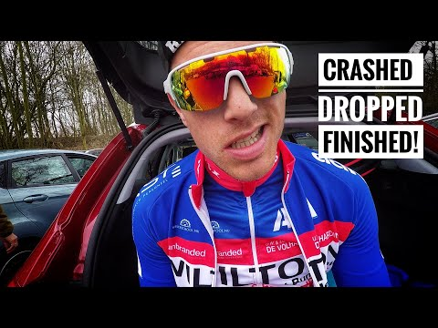 I CRASHED, GOT DROPPED AND STILL FINISHED! Ronde van zuid holland 2018 - #cycling