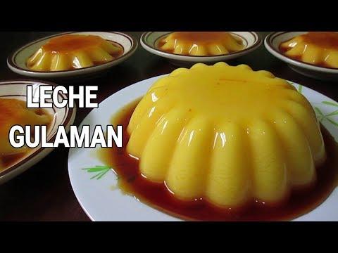 Leche Gulaman | How to make leche flan with Gulaman | Gulaman Leche Flan