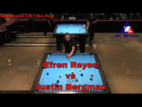 2018 ACD Efren Reyes vs Justin Bergman