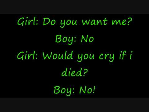 Sad story of a girl and a boy