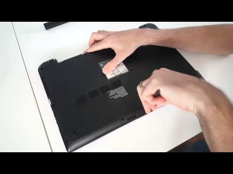 Toshiba Satellite L50-B HDD/SSD, Memory Upgrade and Disassembly Guide