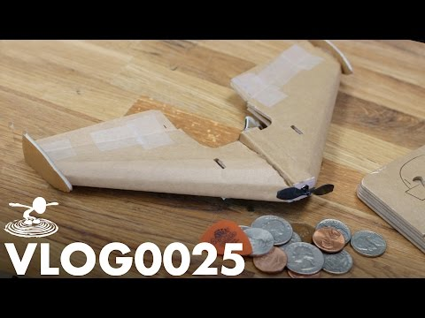 TINY DIY RC PLANE | VLOG0025