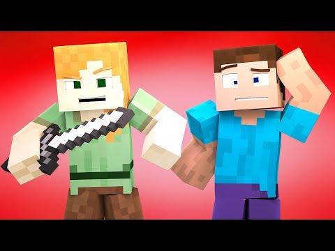 Minecraft Blender Character Rig FREE  (DOWNLOAD IN DESC.) ZAMination Rig