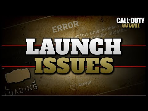 CoD WW2 Launch Issues... (Stuck loading, Alone in Headquarters, & Level Reset...)