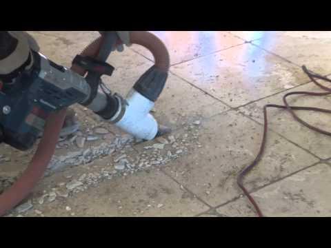 Travertine Floor Tile Removal - Clean Tile Removal in Arizona