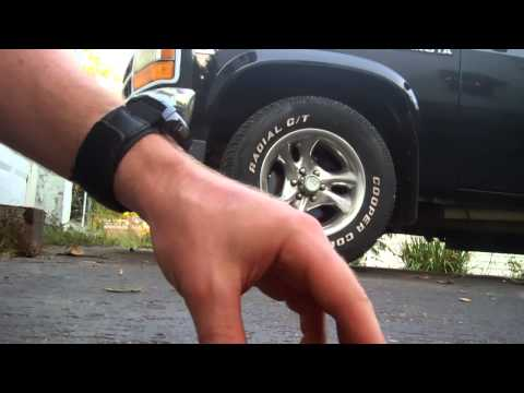 Replacing shocks - Bounce test before