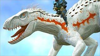 Ark Survival - Alpha Indoraptor Vs Large Dinos [ep.413]