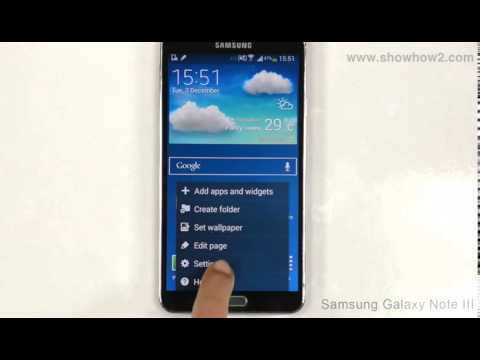Samsung Galaxy Note 3 - How To Unlock Screen With Pattern