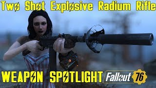 Fallout 76: Weapon Spotlights: Explosive Hunting Rifle